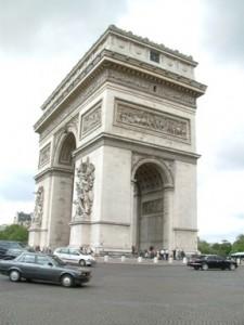 巴黎自由行ArcdeTriomphe