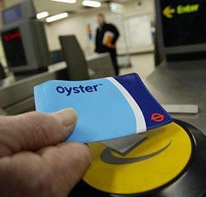 倫敦自由行牡蠣卡(Oyster Card)