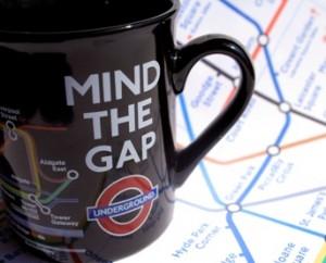 倫敦地鐵 Mind the mug