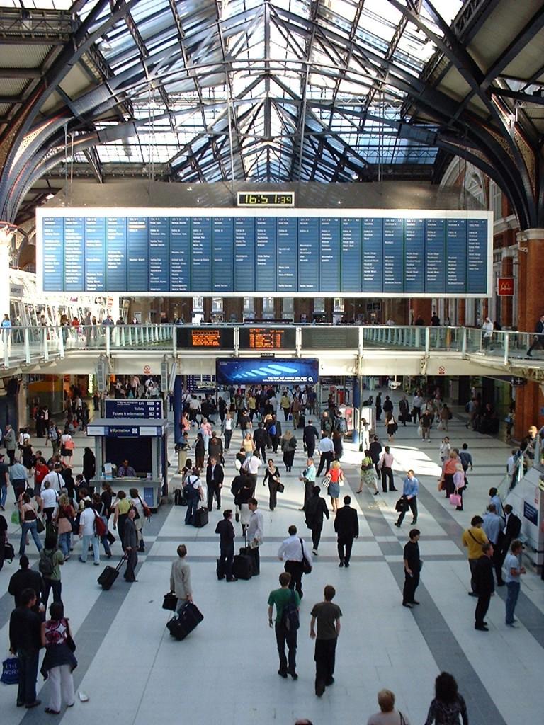 倫敦地鐵 Rail station