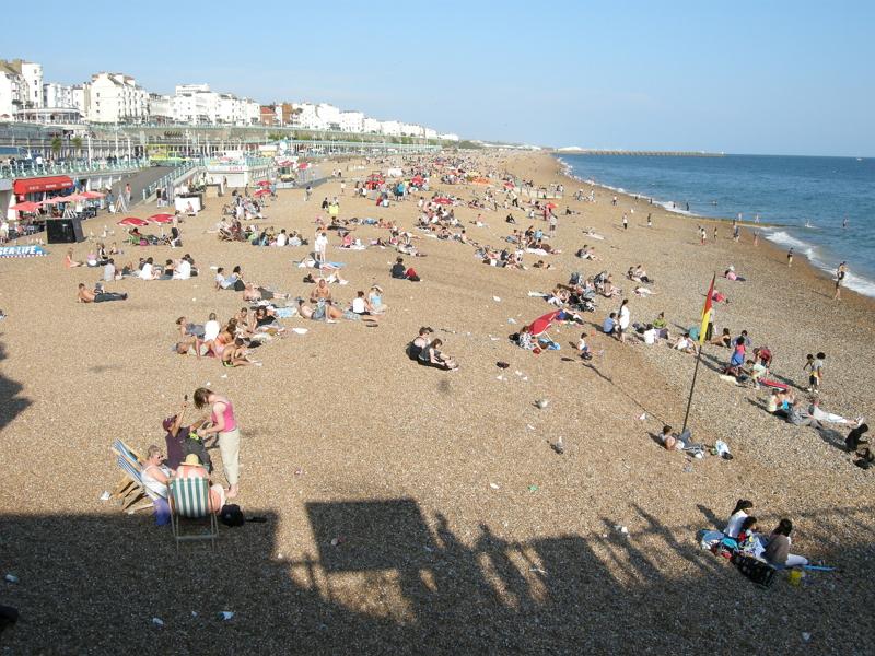 布萊頓自由行-Brighton Beach