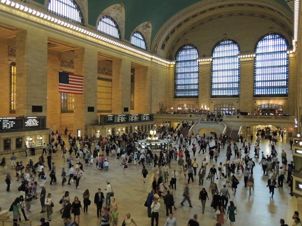 紐約自由行~中央車站