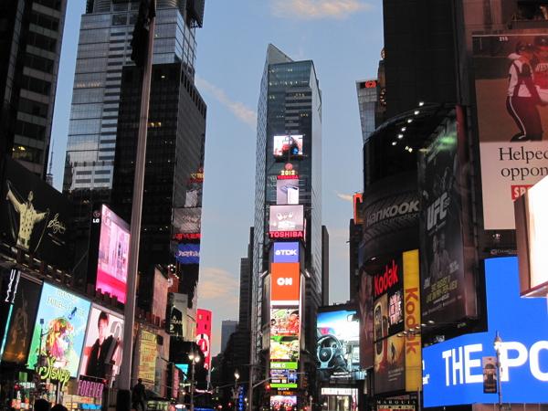 紐約自由行~時代廣場