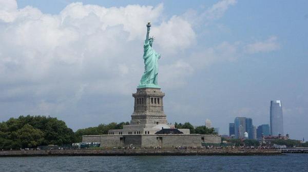 紐約自由行~自由女神