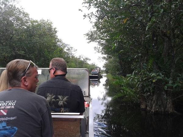 佛羅里達~大沼澤國家公園之空氣船