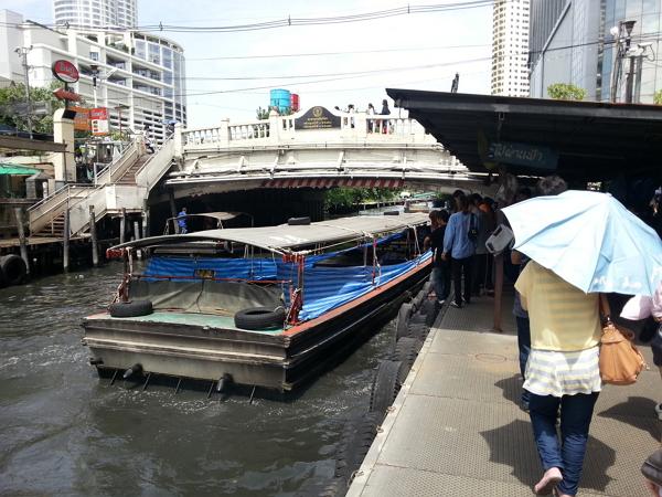曼谷自由行~盛桑運河快船站