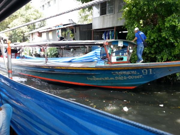 曼谷自由行~盛桑運河快船(Khlong Saen Saep Express Boat)