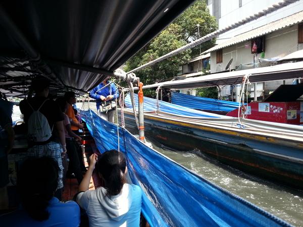 曼谷自由行~盛桑運河快船收費員