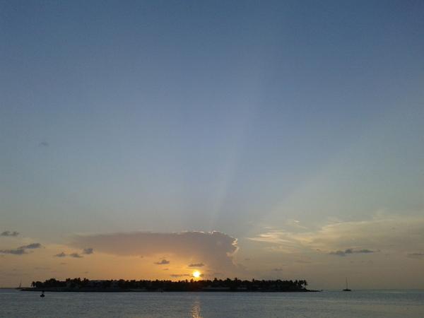 佛羅里達自由行~Key West夕陽美景