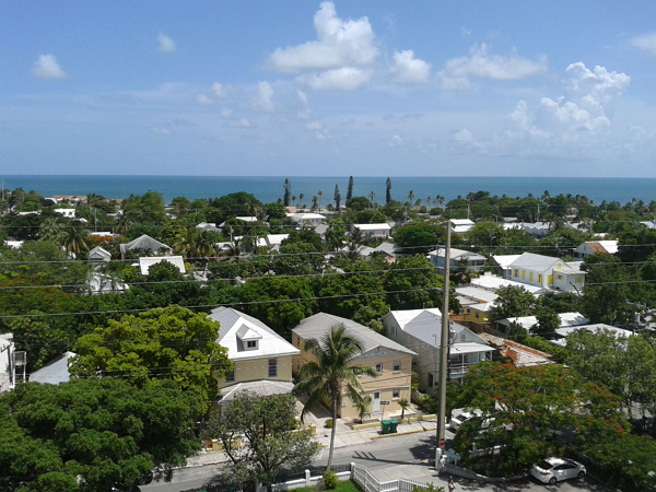 佛羅里達自由行~Key West臨海住宅