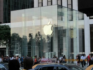 紐約自由行-第五大道Apple店