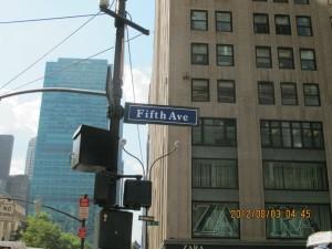 紐約自由行-第五大道