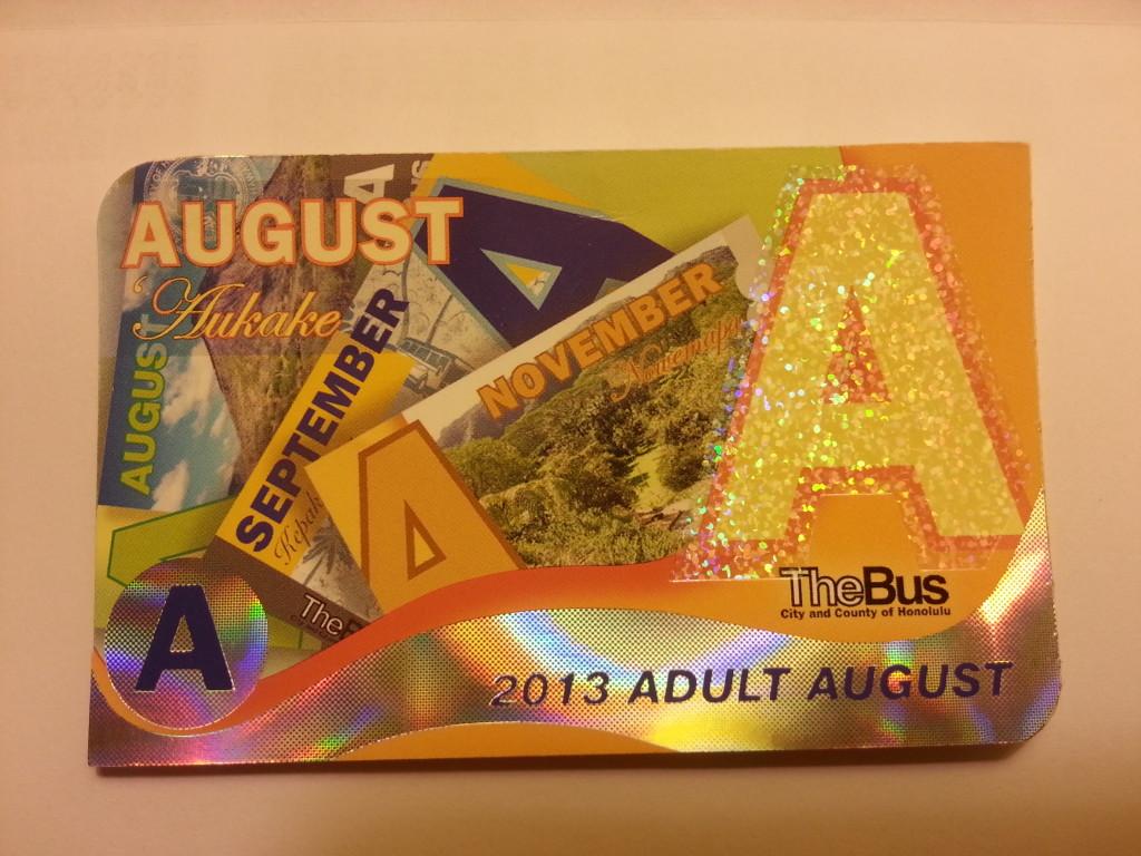 夏威夷旅遊-歐胡島公車月票