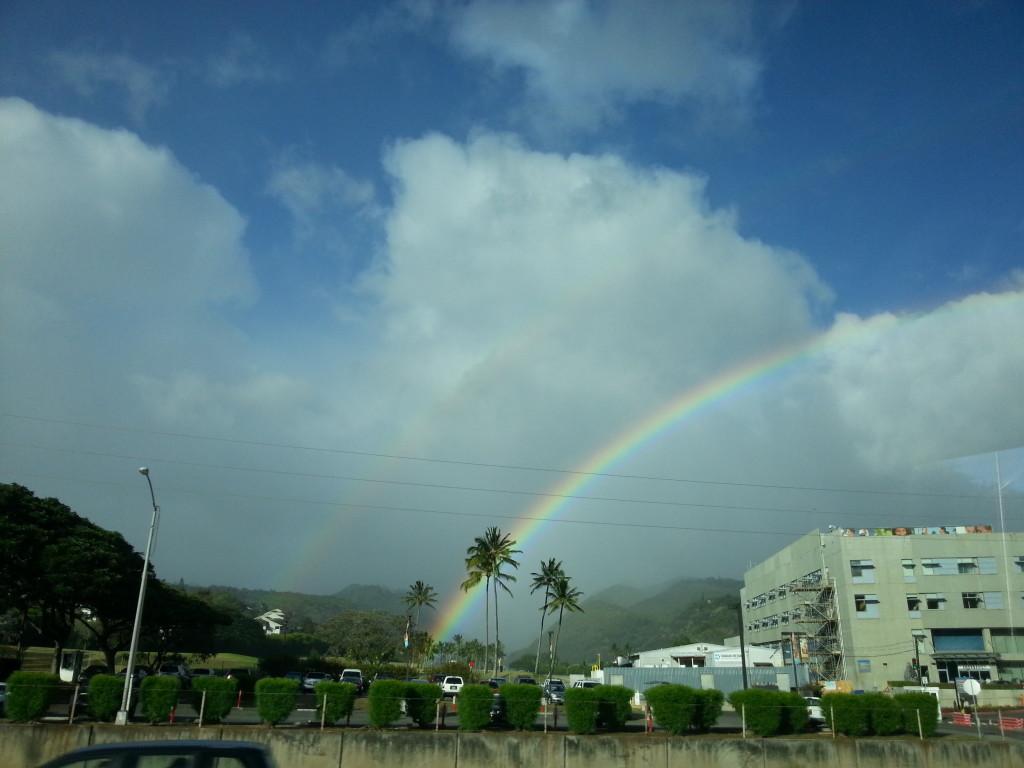 夏威夷旅遊-雙彩虹
